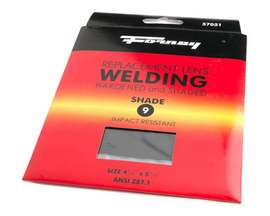 "Forney® #9 Replacement Welding Lens - 4.5"" x 5.25"""