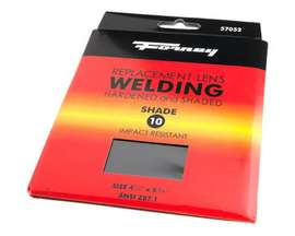 "Forney® #10 Replacement Welding Lens - 4.5"" x 5.25"""