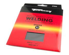 "Forney® #11 Replacement Welding Lens - 4.5"" x 5.25"""