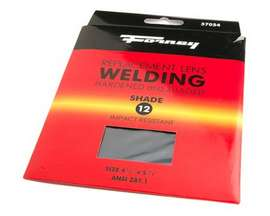 "Forney® #12 Replacement Welding Lens - 4.5"" x 5.25"""