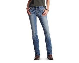 Ariat® Women's Real Straight Icon Rainstorm Jeans