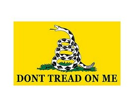 "Eagle Emblems ""Don't Tread On Me"" Flag - 3ft x 5ft"
