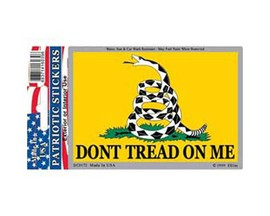 Eagle Emblems Don't Tread On Me Sticker