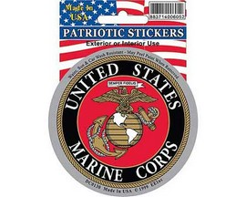 Eagle Emblems US Marine Corps Logo Sticker