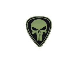 5ive Star Gear® Punisher Diamond Night Glow Morale Patch