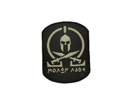 "5ive Star Gear® Black ""Molon Labe"" Morale Patch"