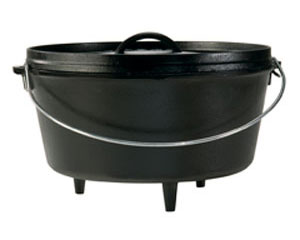 Lodge® 8-Quart Deep Cast Iron Camp Oven, 12""