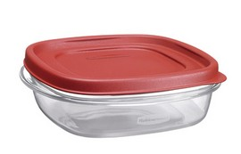 Rubbermaid Food Storage Container, 3 cups 2 pc.