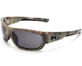 Under Armour® Force Sunglasses - Satin Realtree Xtra®/Gray