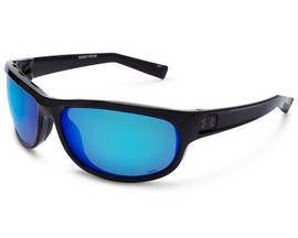 Under Armour® Capture Sunglasses - Shiny Black/Gray Blue Multiflection