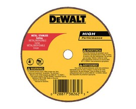 High Performance 4 in. Dia. x 1/16 in. thick x 5/8 in. Cut-Off Wheel