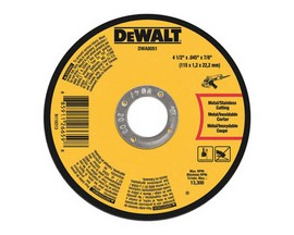 4-1/2 in. Dia. x .045 in. thick x 7/8 in. Metal Cut-Off Wheel
