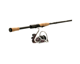 13 Fishing 6 Ft. 6 In. Code Silver Spinning Combo - Medium