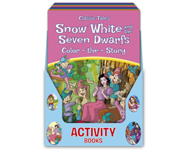 International Greeting Color-The-Story Activity Book