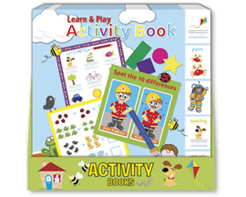 International Greeting Learn And Play Activity Books