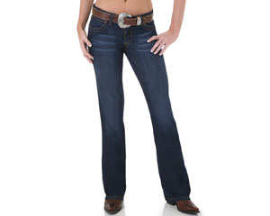 Get your Wrangler Women's Slim Fit Natural Rise Jeans at