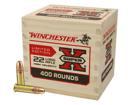 Winchester Super X Limited Edition Rim fire Ammunition