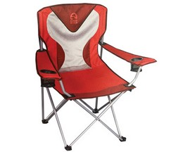 Kings River® Magnum Mesh Camp Chair - Red