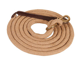 Mustang Manufacturing Brass Bolt Snap Jute Lead - 5/8""