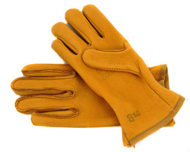 Grain Elkskin Form-Fitting Yellowstone Gloves