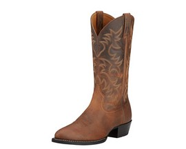 Ariat® Men's Heritage Western Dress Boot - Distressed Brown