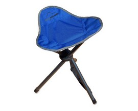 Alpine Mountain Gear Tripod Stool Camp Chair - Blue