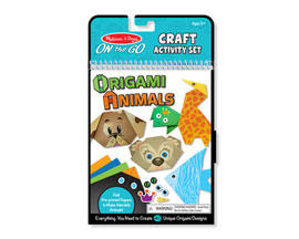 Melissa and Doug® On-the-Go Crafts - Origami Animals