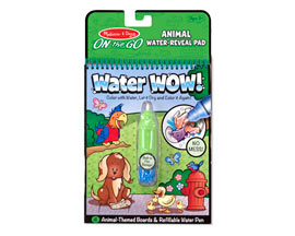Melissa and Doug® Water Wow! Animals Water-Reveal Pad - On the Go Travel Activity