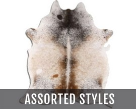 BS Trading® Hair-on Assorted Cow Hide